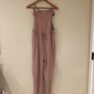 Pink billabong jumpsuit
